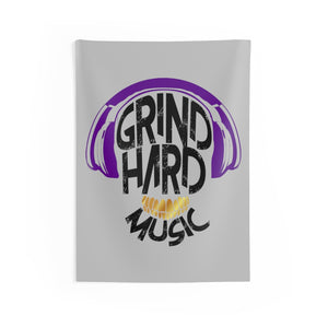 GrindHardMusic Indoor Wall Tapestries