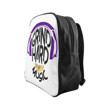 Load image into Gallery viewer, GrindHardMusic School Backpack