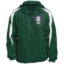 Load image into Gallery viewer, GrindHardMusic MENS Fleece Lined Colorblocked Hooded Jacket