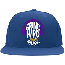 Load image into Gallery viewer, GrindHardMusic Flat Bill Twill Flexfit Cap