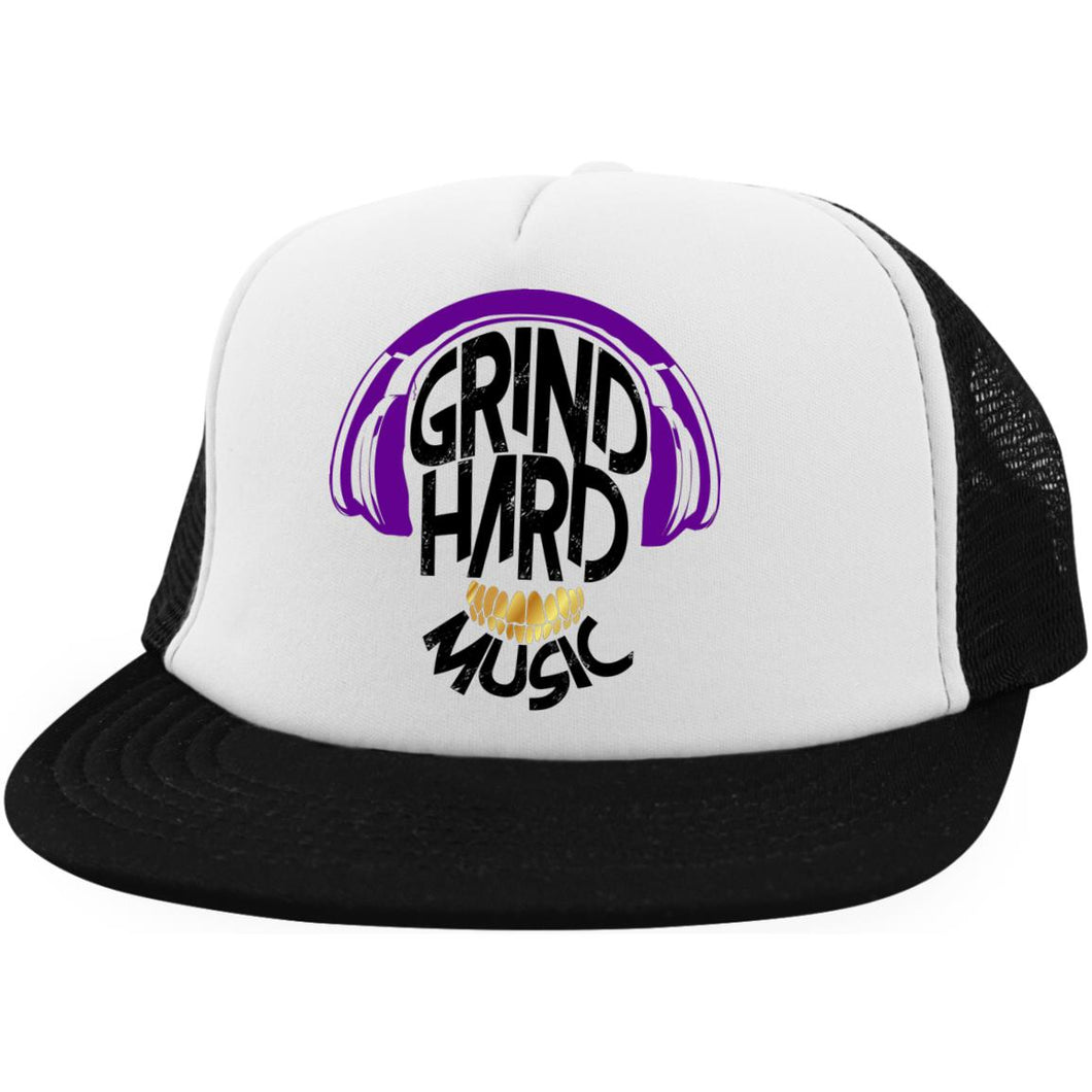 GrindHardMusic Hat with Snapback