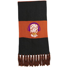 Load image into Gallery viewer, GrindHardMusic Fringed Scarf