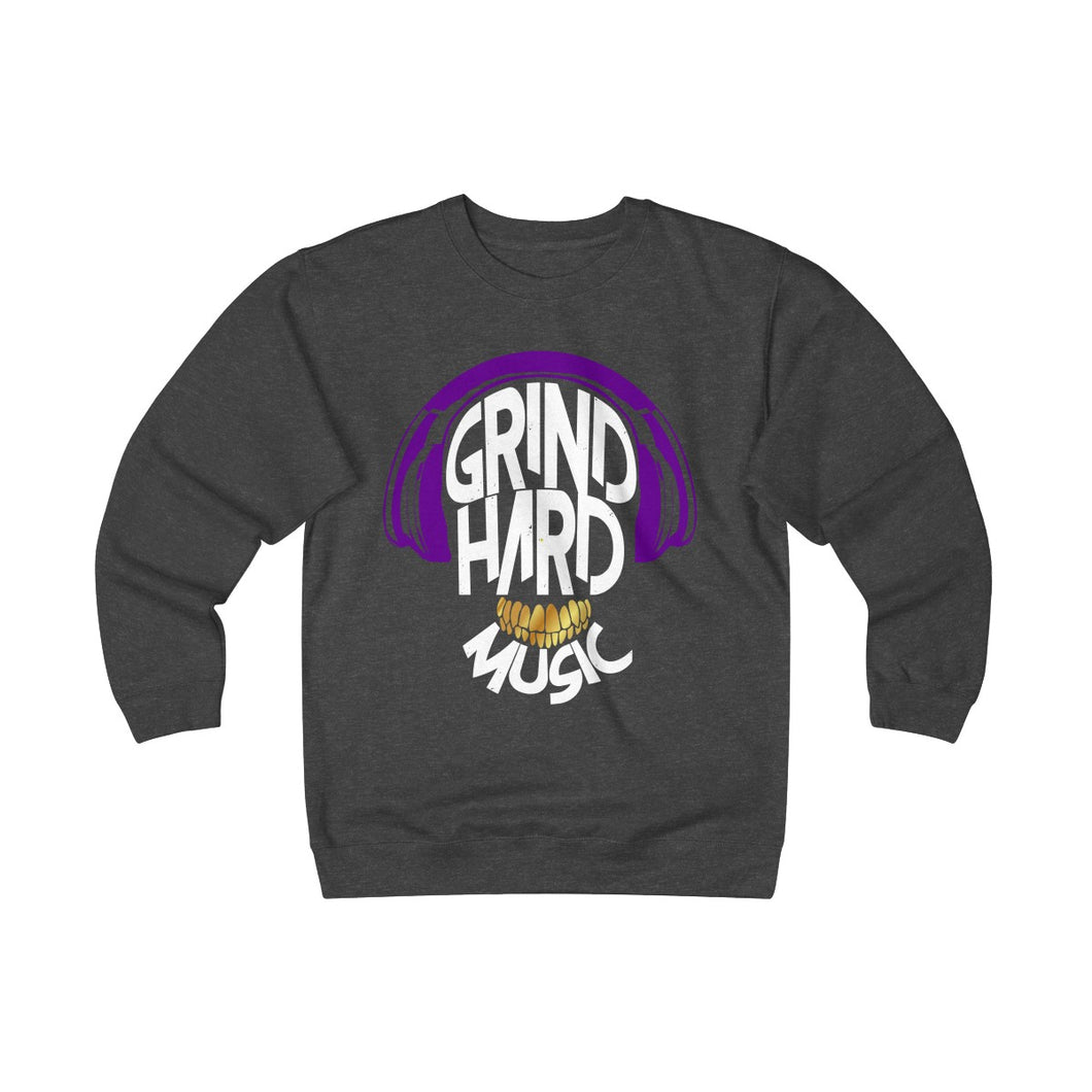 GrindHardMusic Unisex Heavyweight Fleece Crew