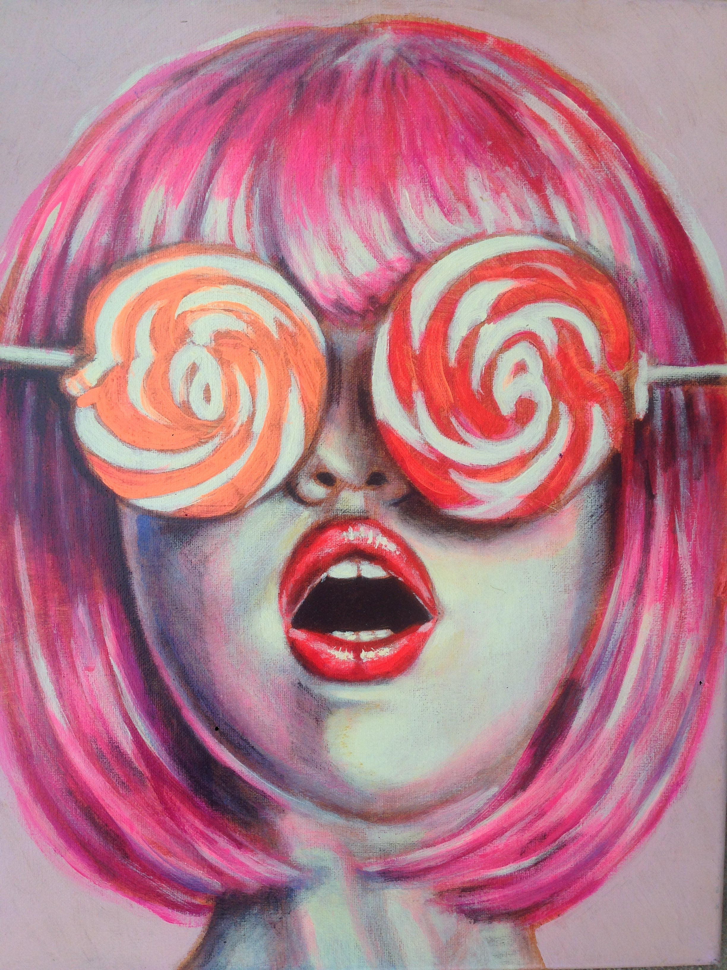 Candy Eyes Original #2