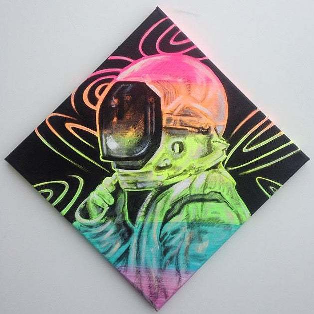 Rainbow Astronaut Mini Original