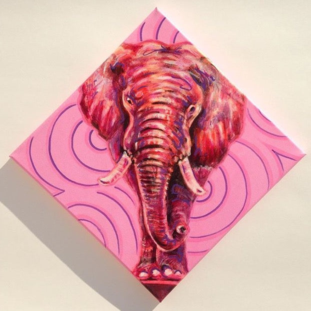 Pink Elephant Mini Original