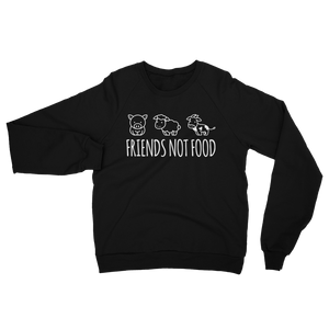 Friends Not Food - Sweatshirt - Ethical Reyna - Vegan Streetwear
