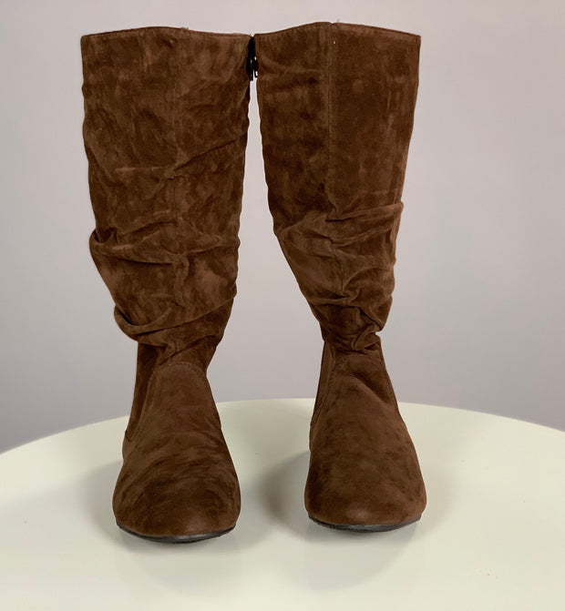 SHOES {Karyn's Collection} Wide Calf Boots~ BROWN