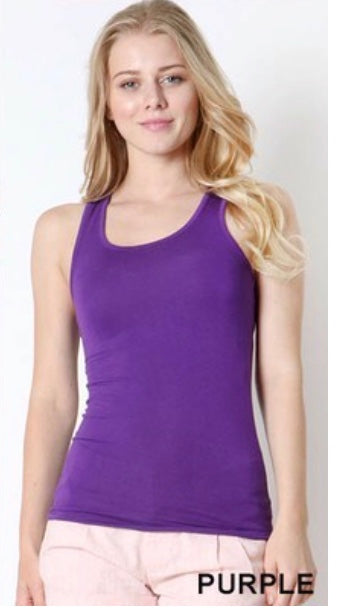 Tank {Right Where You Are} Violet Racerback Tank Top SALE!!