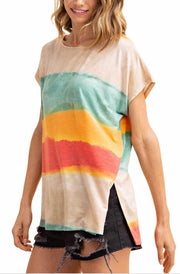 PSS-A {Beyond The Horizon} Gradient Tie-Dye Top SALE!!
