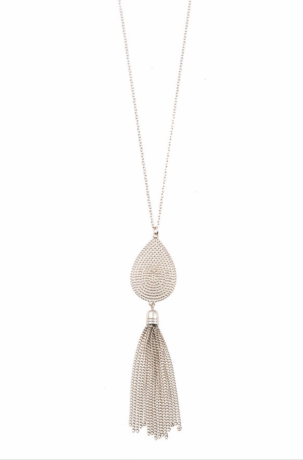 NC-C {Draw You Near} Pear Shaped w/ Drop Chain Detail