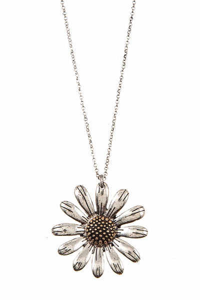 NC-B {Flower Me} Graceful Flower Pendant