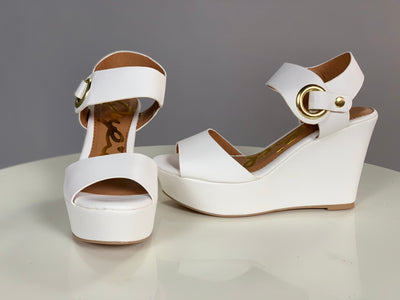 SHOES {Qupid} White With Open Toe
