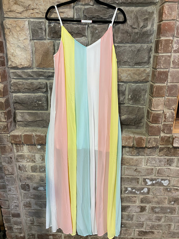 LD- {Over The Rainbow} Maxi Dress