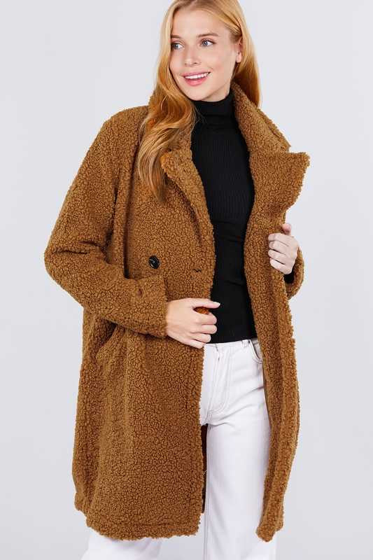 10-20 OT-C {Cold Winter} Camel Colored Big Jacket
