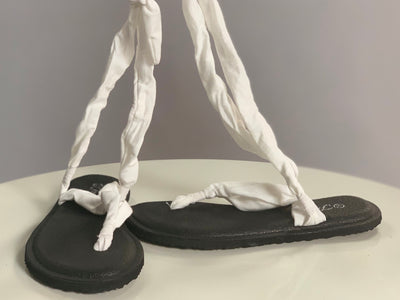 SHOES {Forever Comfortable} WHITE Yoga Slings (Sandals/Shoe Category)