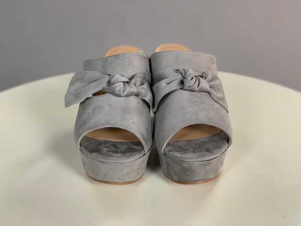 SHOES {Nature Breeze}  Suede With Bow