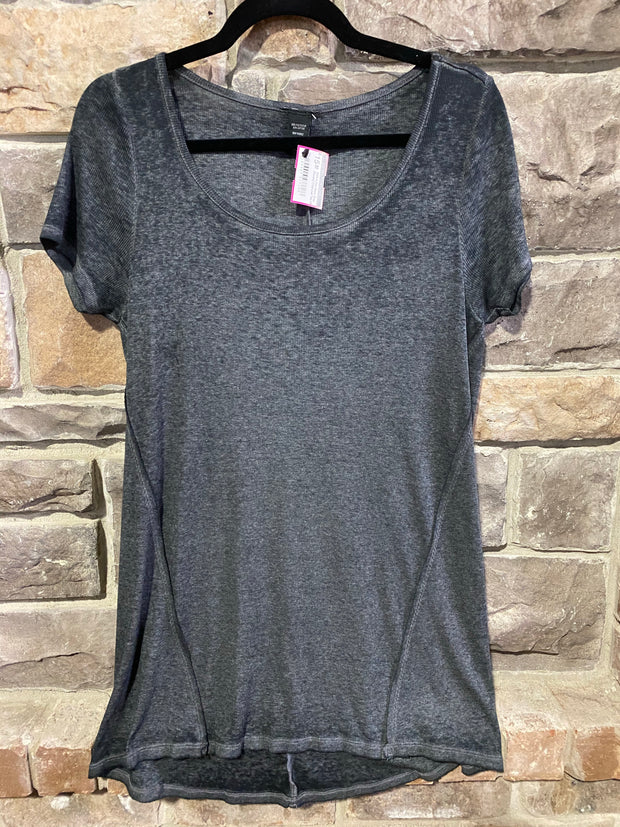 SSS-A {No More Gray Clouds} Charcoal Tee