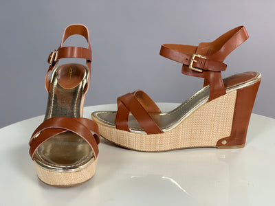 SHOES {Liz Claiborne} Brown with Gold