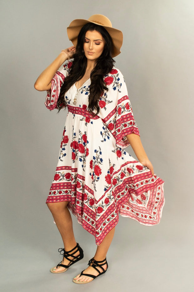"LD-D {Pure Joy} ""UMGEE"" Bohemian Style Dress"