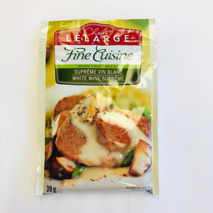 Fine Cuisine White Wine Supreme Sauce Mix 39g