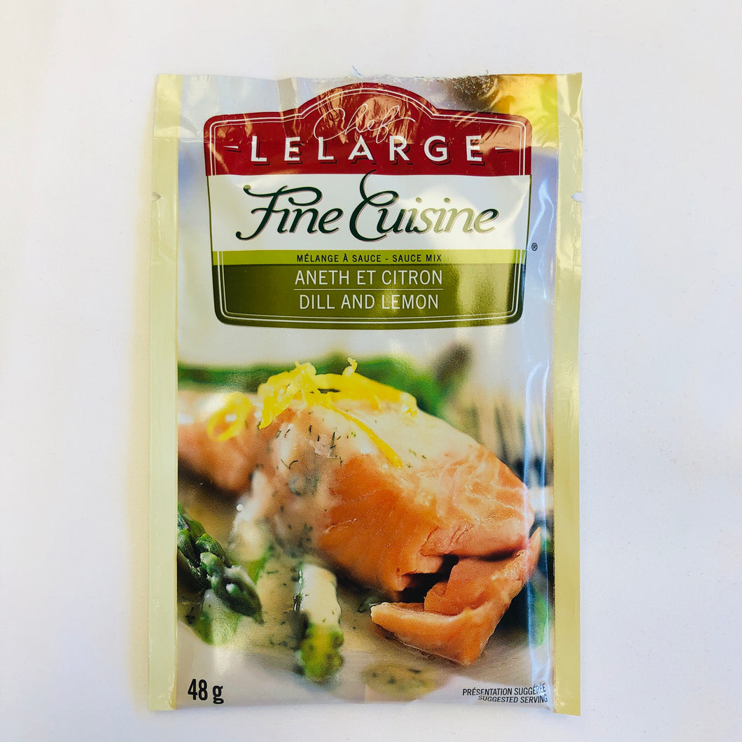 Chef LeLarge Fine Cuisine Dill and Lemon 48g