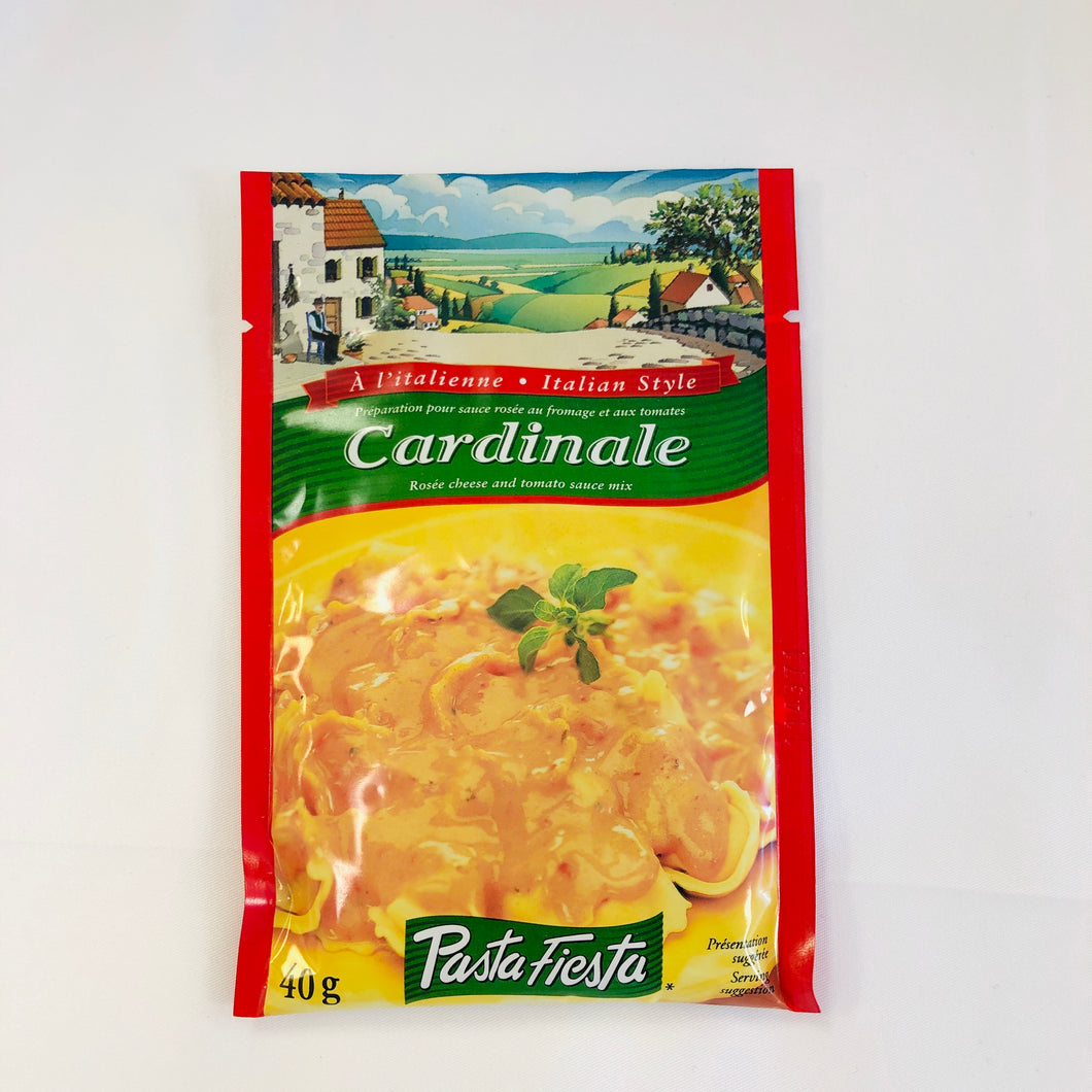 Pasta Fiesta Cardinale Rosee Cheese and Tomato Sauce Mix 40g