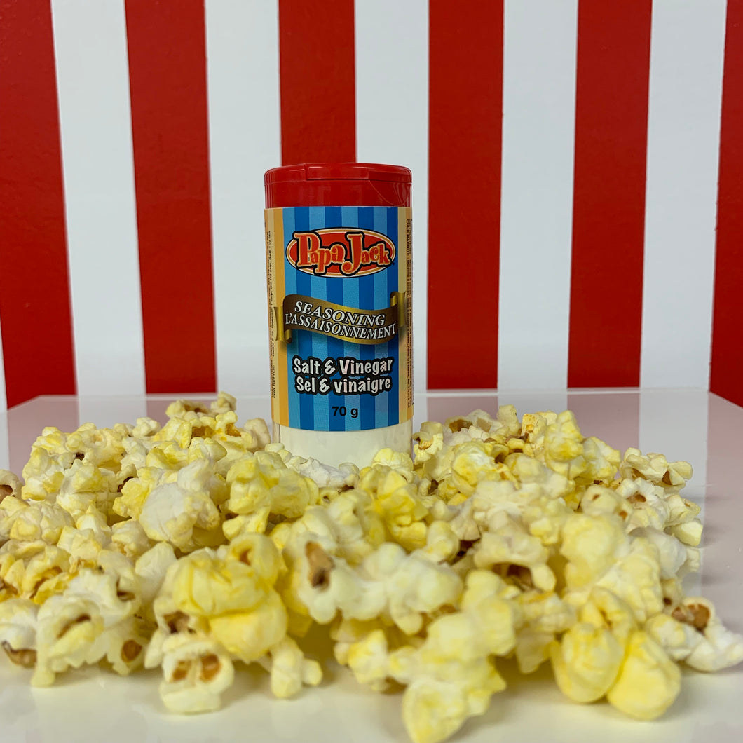 Papa Jack Popcorn Salt & Vinegar Seasoning 70g