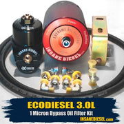 Jeep Wrangler 3.0L EcoDiesel Bypass Oil Filtration Kit