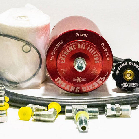 Porsche Cayenne 3.0 Turbo Diesel Bypass Oil Filter Kit