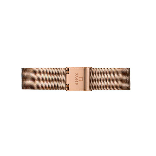 Rosé Goldenes Meshband - 32mm
