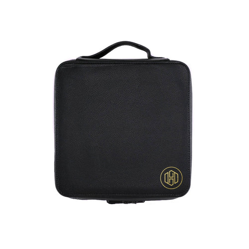 Large Leather Case - Black