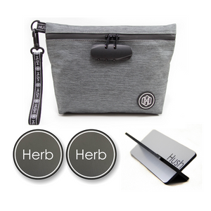 Grey Travel Kit - Black