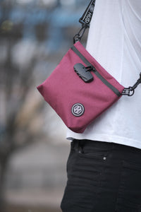 Maroon Travel Pouch