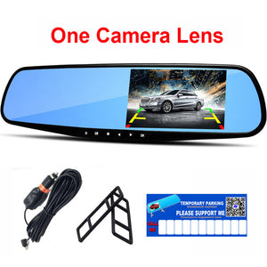 1080P Car Dvr Camera with Rearview Mirror to protect you from accidents