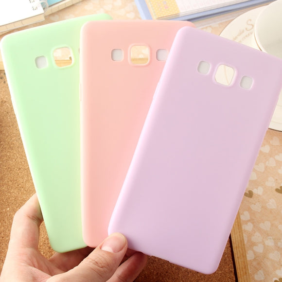 Ultra-thin Candy Color Case for Samsung