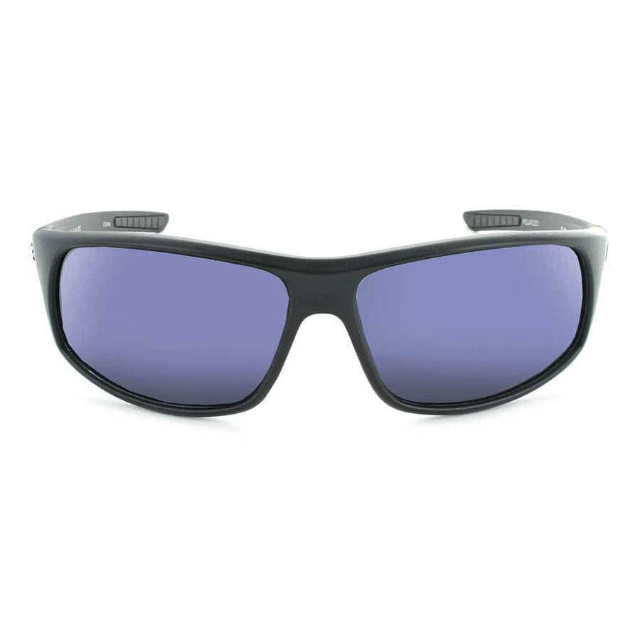 Rapid Matte Black W / Polarized Smoke Blue Mirror