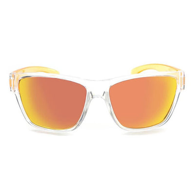 Tag Crystal with Orange w/ Polarized Smoke Red Zaio