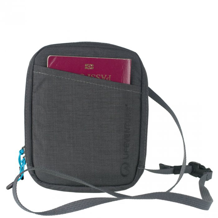 RFID Protected Document Neck Pouch