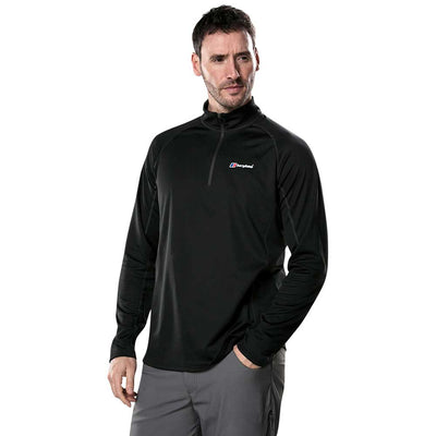 Tech Tee 2.0 Zip Neck Long Sleeve
