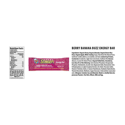 Energy Bar 15 Berry Banana Buzz