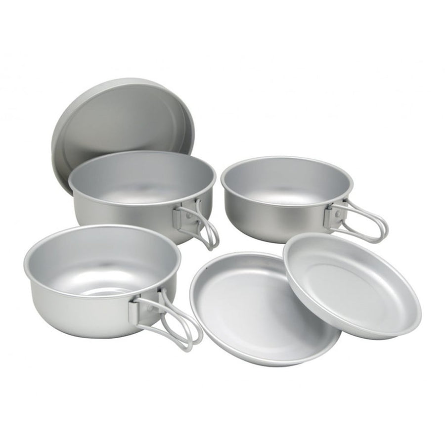6 Mess Kit-Aluminum (Cookset)