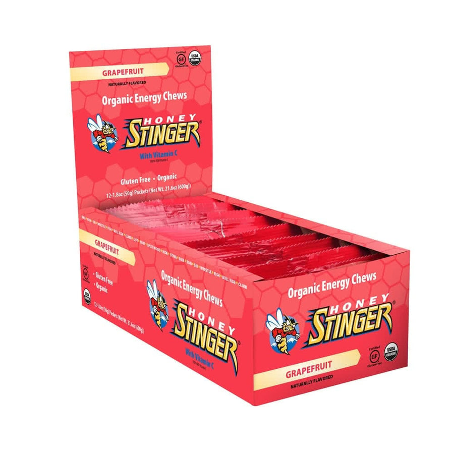 Energy Chews 12 Grapefruit (6pcs)