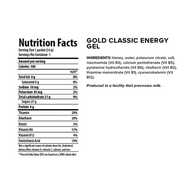 Energy Gel 24 Gold