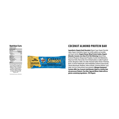 10g Pro Bar Dark Chocolate Coconut Almond (6pcs)