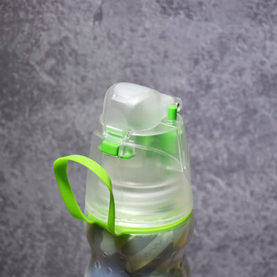 【新蓋設計】有蓋保凍噴霧安全鎖水樽 New Mist Cool Bottle 20oz