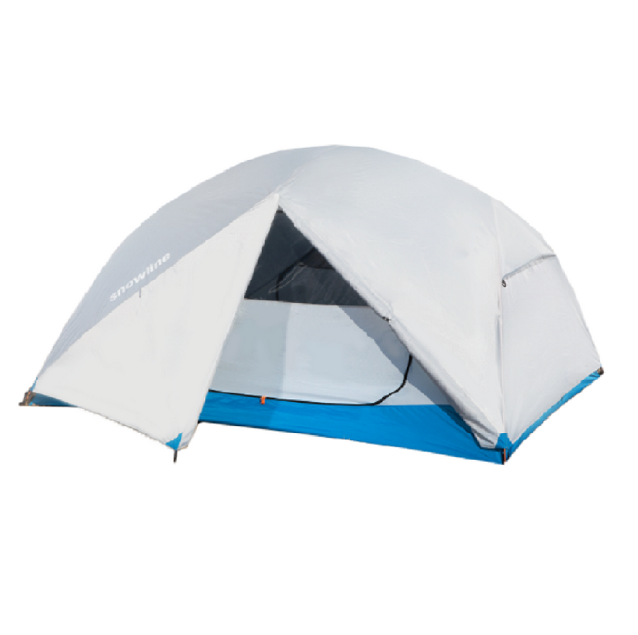 New Camp 4 Tent White/Grey