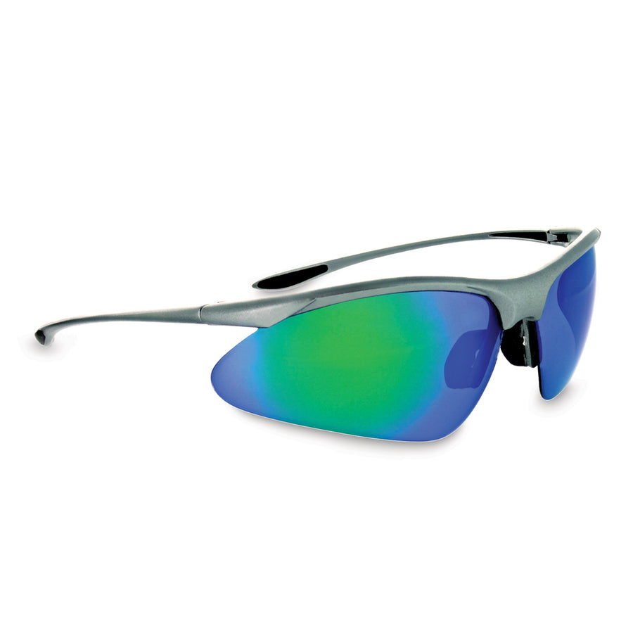Tightrope Matte Carbon Polarized Brown Lens with Blue Mirror