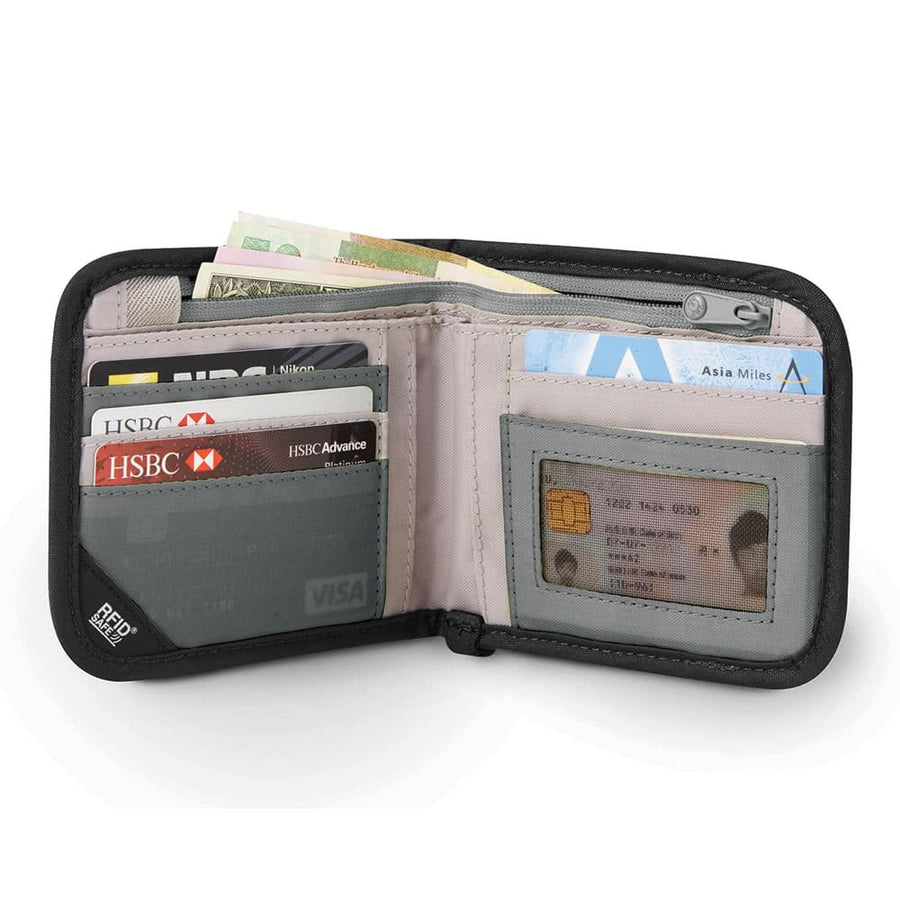 RFIDsafe V100 Anti-theft RFID Blocking Bi-fold wallet