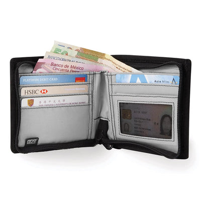 RFIDsafe Z100 RFID Blocking Bi-fold wallet